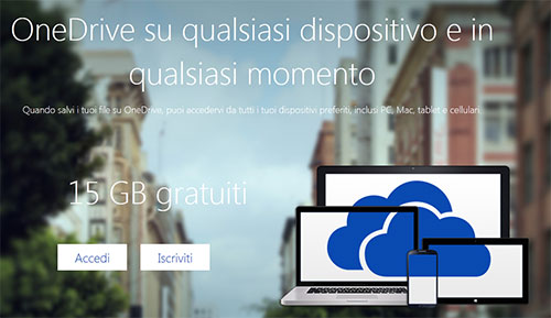 Microsoft One Drive conferma la disponibilità di 10 GB per l'upload