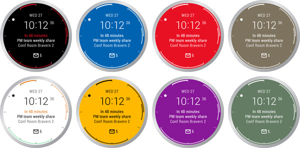 Watch face Outlook: la novità per Android Wear