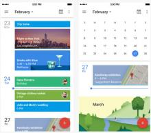 Il nuovo Google Calendar per Apple iOS
