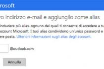 Come impostare un alias su Outlook.com / Hotmail