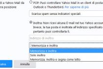 Yahoo Mail: inoltrare le email